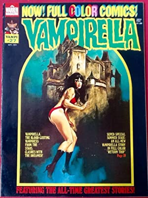 VAMPIRELLA No. 27 (Sept. 1973) (VF)