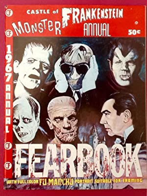 CASTLE of FRANKENSTEIN : 1967 MONSTER ANNUAL (FEARBOOK) VF/NM