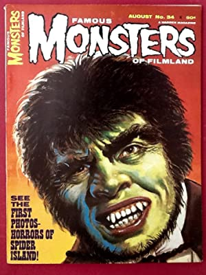 FAMOUS MONSTERS of FILMLAND No. 34 (August 1965) NM