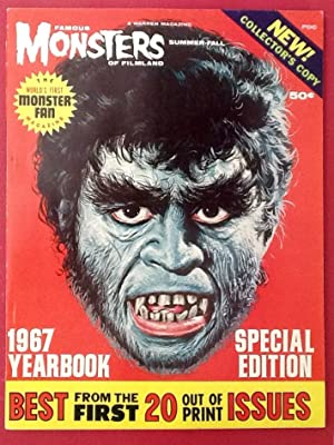 FAMOUS MONSTERS of FILMLAND : 1967 Yearbook (NM)