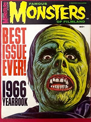 FAMOUS MONSTERS of FILMLAND : 1966 Yearbook (Fine+)