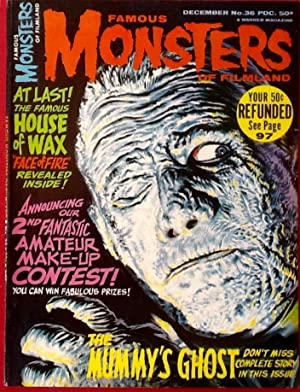 FAMOUS MONSTERS of FILMLAND No. 36 (Dec. 1965) VF