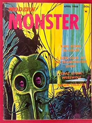 MODERN MONSTER No. 1 (April 1966) VG