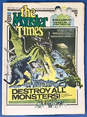 THE MONSTER TIMES Vol. 1, No. 26 (VF)