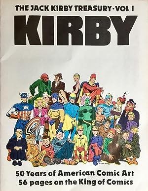 The JACK KIRBY TREASURY : Volume 1: KIRBY, JACK