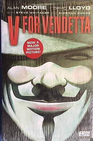 V For VENDETTA (Hardcover 1st.): MOORE, ALAN