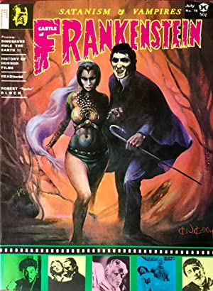 CASTLE of FRANKENSTEIN No. 16 (VF+)