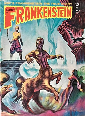 CASTLE of FRANKENSTEIN No. 21 (FINE/VF)