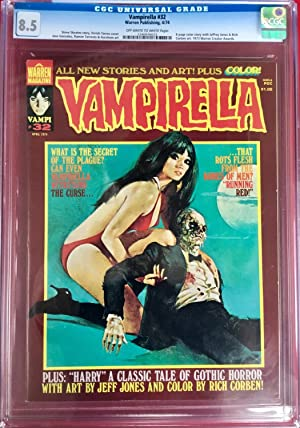 VAMPIRELLA No. 32 (April 1974) - CGC Graded 8.5 (VF+)
