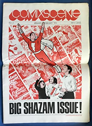 COMIXSCENE No. 2 : BIG SHAZAM ISSUE! (January - February 1973) VF