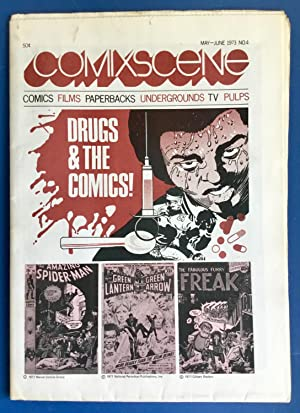 COMIXSCENE No. 4 : DRUGS & THE COMICS! (May - June 1973) VF