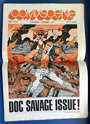 COMIXSCENE No. 1 : DOC SAVAGE ISSUE! (November - December1972) VF