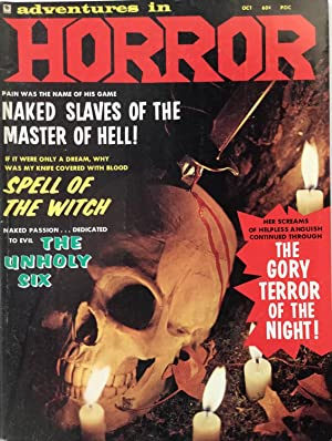 Adventures in HORROR No. 1 (October 1970) FINE/VF
