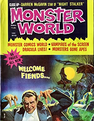 MONSTER WORLD No. 1 (March 1975) (FINE)