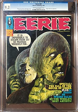 EERIE No. 20 (March 1969) - CGC Graded 9.2 (NM-)