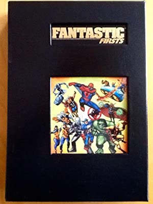 FANTASTIC FIRSTS (MARVEL Limited) - Leatherbound Limited Edition in Slipcase: LEE, STAN