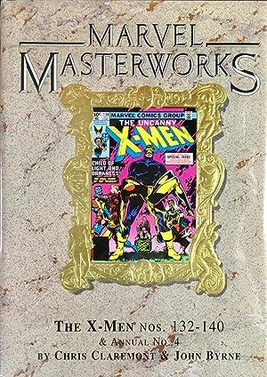 MARVEL MASTERWORKS Vol. 40 (Hardcover Limited Edition - Gold Foil Variant) : The UNCANNY X-MEN Nos....