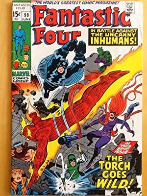 FANTASTIC FOUR No. 99 (June 1970) -: LEE, STAN