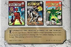 MARVEL MASTERWORKS Vol. 57 (Variant Gold Foil Edition) : Atlas Era TALES to ASTONISH Nos. 1-10: ...