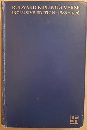 Rudyard Kipling's Verse. Inclusive Edition 1885-1926: Kipling, Rudyard