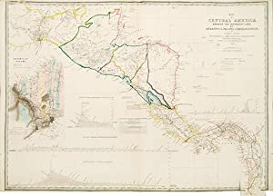 Map of Central America, shewing the Different: WYLD, James.