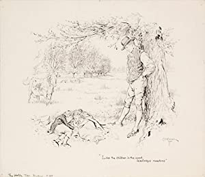 Like the children in the wood, leastways meadows. The Holly Tree. Dickens. p. 198.