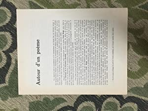 Autour d'un Poeme: Alexandre, Maxime., Unik,