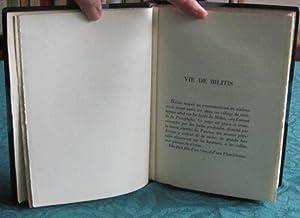 Les Chansons de Bilitis.: LOUYS Pierre
