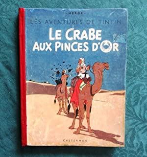 Tintin. Le Crabe aux Pinces d'Or. (Dos: HERGE