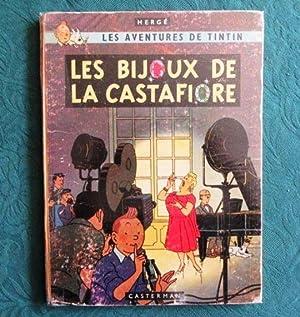 Tintin. Les Bijoux de la Castafiore. (Dos: HERGE