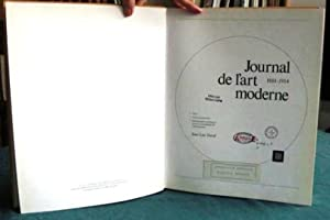 Journal de l'Art Moderne 1884-1914.: DAVAL Jean-Luc
