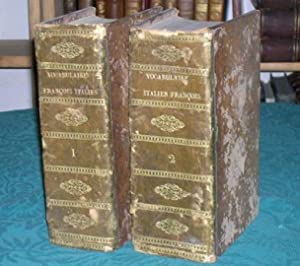 Dictionnaire vocabulaire François-Italien. 2 volumes.