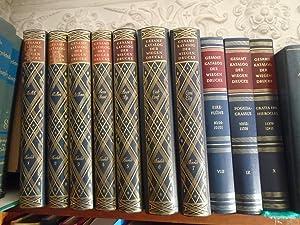 Gesamtkatalog der Wiegendrucke. Bande I-X. (the first ten vols of eleven now published): KOMMISSION...