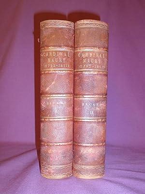 Correspondance Diplomatique et Memoires Inedits du Cardinal Maury (1792-1817). 2 vols: RICARD, Mgr ...