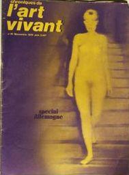Chroniques de l'Art Vivant n° 15 -: Chroniques de l'Art