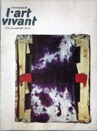 Chroniques de l'Art Vivant n° 31 -: Chroniques de l'Art