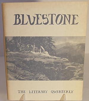 Bluestone (Woodstock, New York) The Literary Quarterly: Loker Raley, Editor