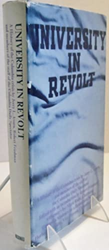 University in Revolt A history of the: Jerry L. Avorn