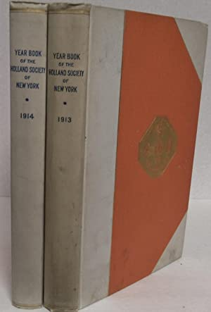 Bergen Book in two volumes:1913 The Bergen Church Records (Baptism records 1666-1788 with index) &...