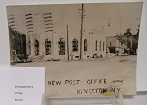 Kingston New York 1907 Post Office construction photo