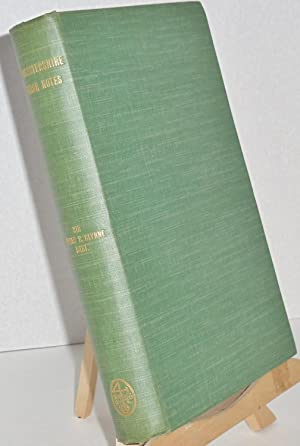 Gloucestershire Church Notes (1902): The Late Sir Stephen R. Glynne, Bart. edited by W.P.W. ...