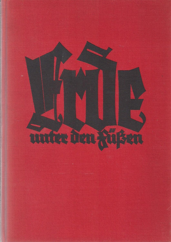 Erde unter den Füßen - Eine neue: Barthel,Max (pseu. Konrad