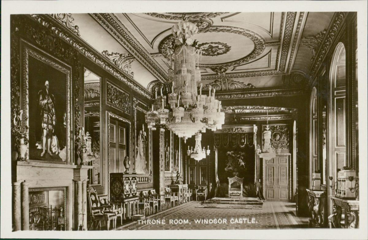 United Kingdom, Throne Room, Windsor Castle by ...