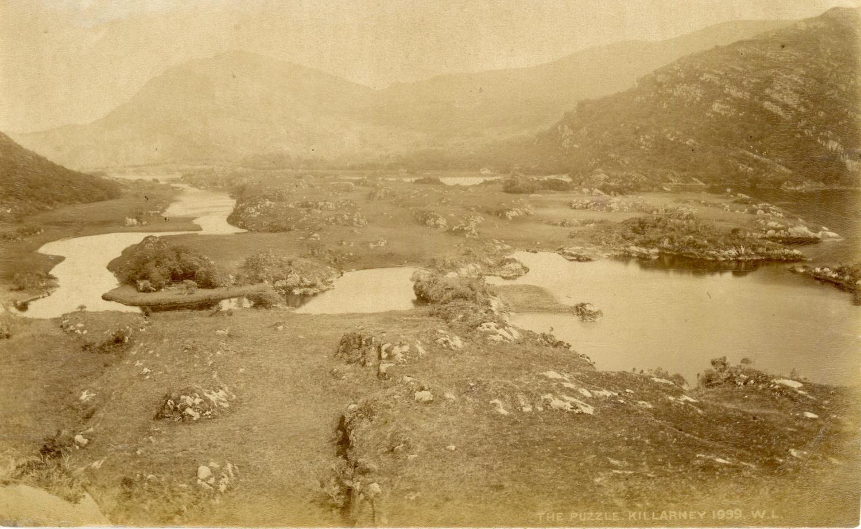 W.L., Ireland, The Puzzle, Killarney Photographie originale / Original photograph