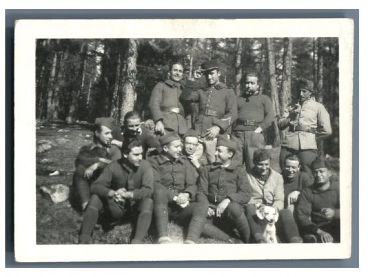 france photo d 39 un groupe de soldats by photographie originale original photograph. Black Bedroom Furniture Sets. Home Design Ideas