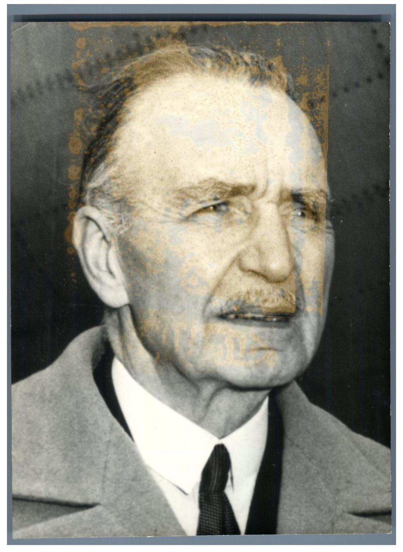 Louis Breguet Photographie originale / Original photograph Photographie,Vintage silver print, Louis Charles Breguet, né le 2 janvier 1880 à Paris et mort le 4 mai 1955 à Saint-Germain-en-Laye, diplômé de Supél