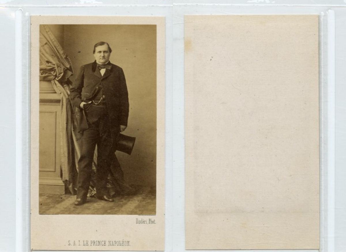 Disderi Paris Napoleon Jerome Bonaparte Von Photographie Originale Original Photograph