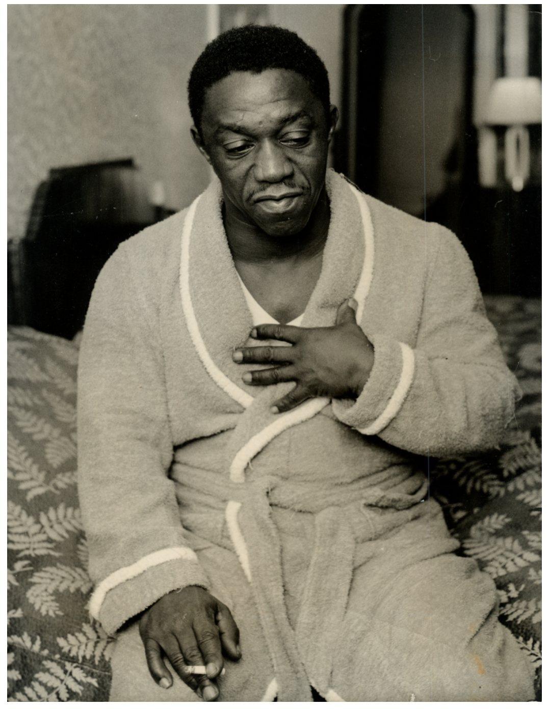 Sugar Ray Robinson Photographie originale / Original photograph