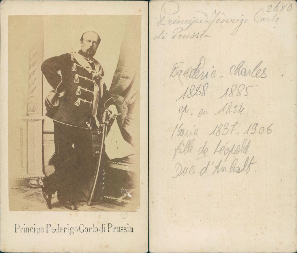 Principe Federigo Carlo Di Prussia Photographie Originale Foto Des Verkaufers