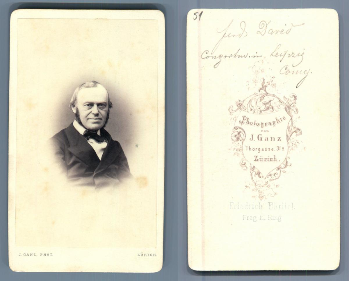J Ganz Zurich Le Violoniste Ferdinand David